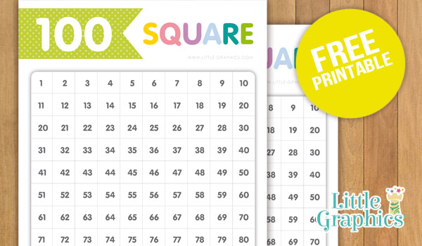 You can use this 100 number square printable sheet to allow children ...