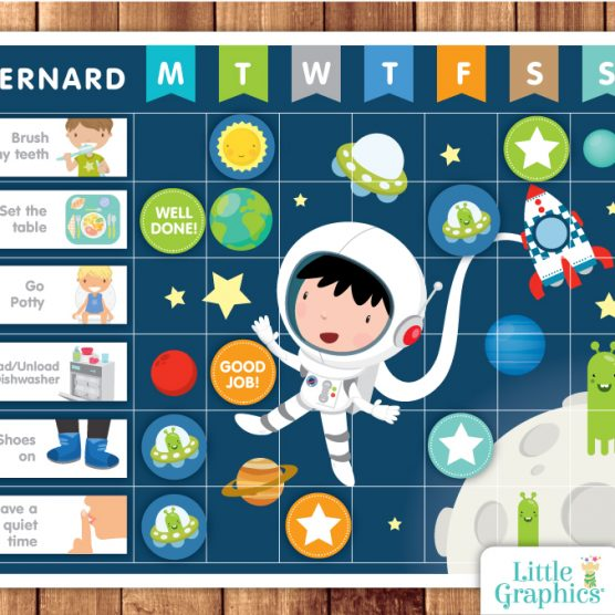 Astronaut reward chart