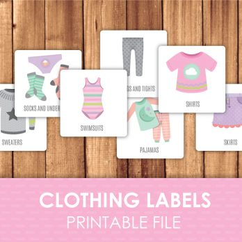 clothing stickers