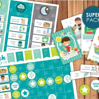 super chore pack printables