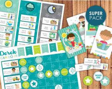 Super chore pack printables