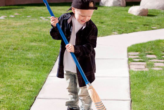 Age-appropriate chores list