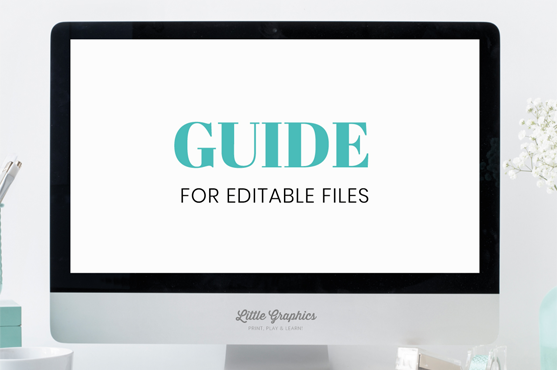 guide for editable files in pdf